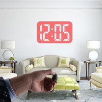 Mini LED Projector Clock Portable Digital Watches Magic Flashlight Clocks Electronic Movement Clock With Time Projection Clock 5