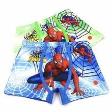10 Pcs Children Underpants Boys Panties Cotton Cartoon Spiderman Briefs For Boy Shorts Baby Panties Kids Underwear 3-11T недорого