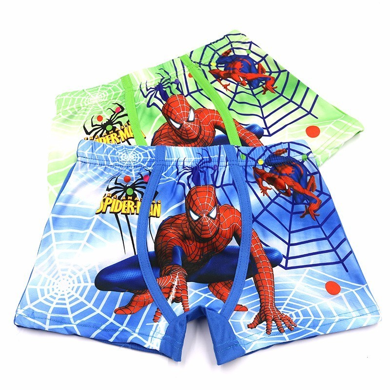 10 Pcs Children Underpants Boys   Panties   Cotton Cartoon Spiderman Briefs For Boy Shorts Baby   Panties   Kids Underwear 3-11T
