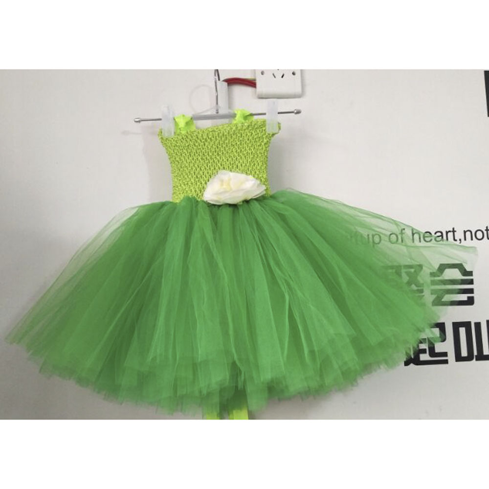 Tinkerbell Girl Magic Fairy Birthday Party Dress Child Princess ...