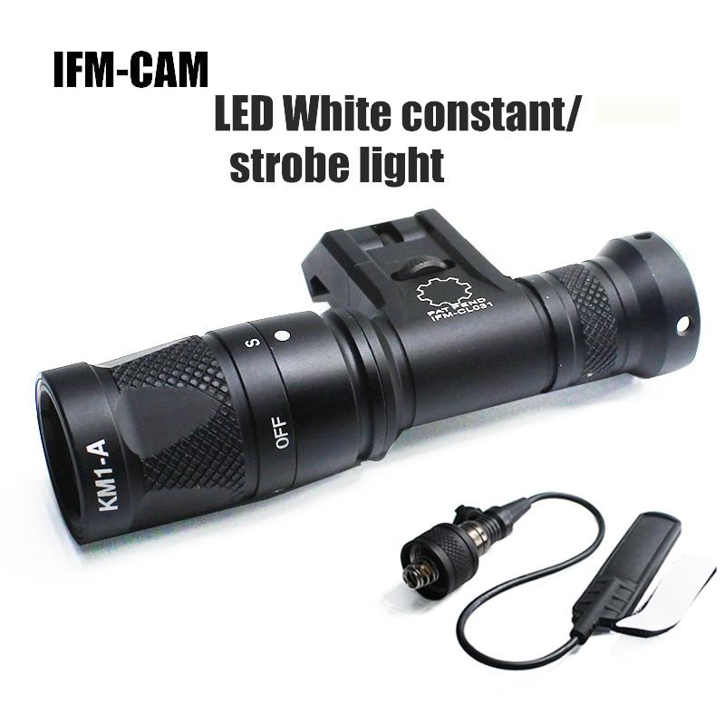 Вссветильник IFM для камеры, точный постоянный стробоскоп, боковое Крепление, дистанционное управление, Пикатинни для охоты