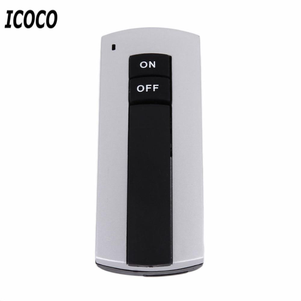 ICOCO Профессиональный E27 винтовой беспроводной светильник с дистанционным управлением патрон лампы Цоколи колпачок переключатель лампы аксессуары вкл. Выкл. 220 В