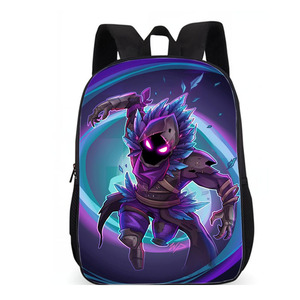 Image 2 - LUOBIWANG Famous Game Printed Children Schoolbag Battle Royale Backpack Lovely Cartoon Character Backpack for Boys and Girls