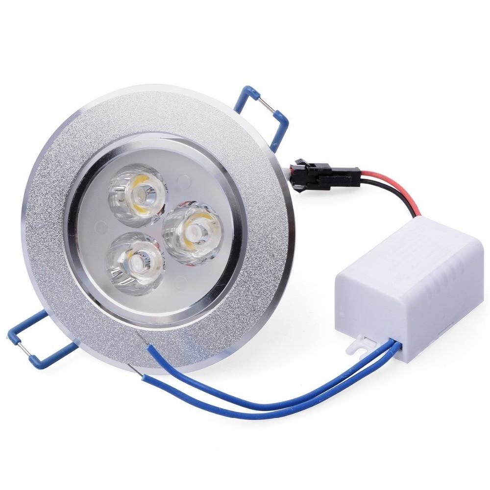 1Pcs 9W 12W 15W AC85V-265V 110V / 220V LED Առաստաղի - Ներքին լուսավորություն - Լուսանկար 3