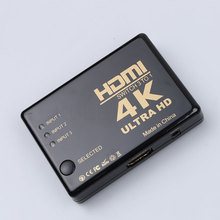 kebidu 3D 4K*2K 3 port HDMI Splitter 3 in 1 out HDMI switcher HDMI Hub Splitter TV Switcher Ultra HD for HDTV PC for PS3 Xbox360