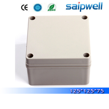 2015 Saipwell hot sale IP66 waterproof electrical plastic outlet switch box 125 125 75mm High quality