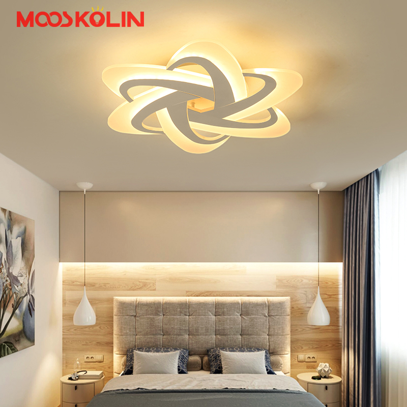 Surface Mounted Modern Led Ceiling Lights For Foyer Bedroom luminaria led Study room Fixtures Indoor Home Dec Ceiling Lamp modern indoor lighting led ceiling lights creative acrylic plafondlamp ac85 260v ceiling lamp livingroom bedroom kitchen foyer