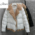 2017 das Mulheres Novas do Inverno de Algodão Acolchoado da Menina Personalidade Casaco Curto cordeiro de Duas Cores Fino Sólida Quente Jaqueta Com Capuz Inverno Quente venda