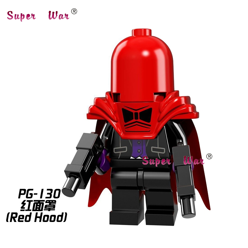 20pcs star wars superhero marvel Red Hood Batman Movie building blocks figure bricks model educational diy baby toys