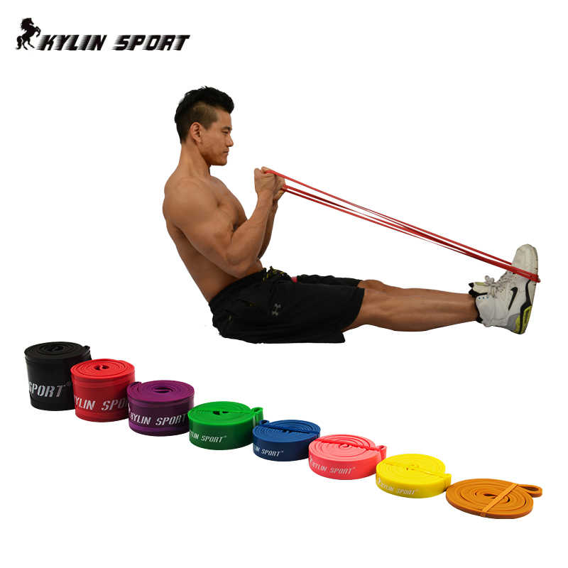 "Natural Latex 41"" And Different Specification Resistance Bands Loop Fitness Pull Up Strengthen Muscles Free Shipping"