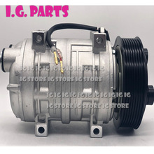 TM21 DKS22 Bus Truck Air Conditioning Ac Compressor For Shuttle Numerous Commercial 48847244 435-47244 2521562 8pk
