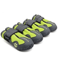4pcs Set Pet Dog Shoes Truelove All Weather Fashion Outdoor Waterproof Dog Boots 4 Colors Size