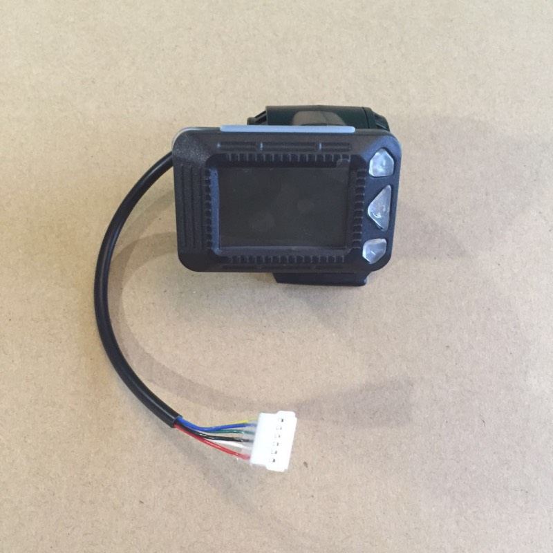 LCD Display Device for 5/5.5 Inches JACKHOT Carbon Fiber Electric Scooter Mini Folding E-scooter Speedometer Odometer Indicator