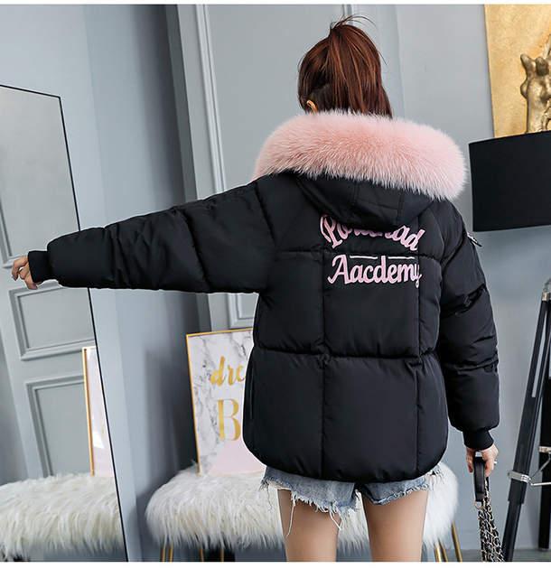 2019 krótkie damskie kurtki parki Camperas modny futrzany