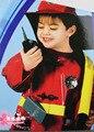 fireman sam  Kids  halloween cosplay  costume for  Fancy Dress 1set/lot(4-6 years)