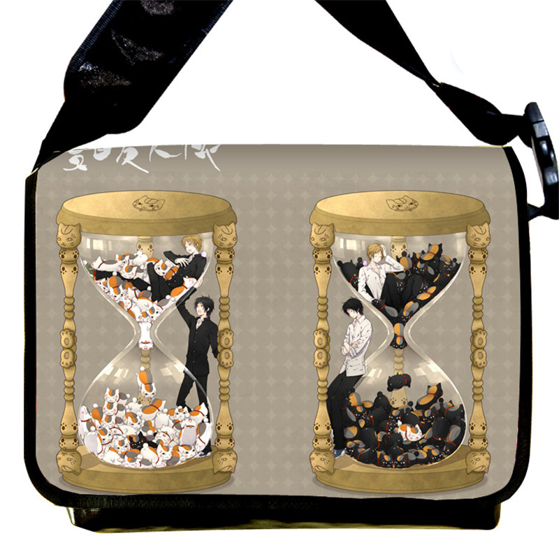 Japan Anime Natsume's Book of Friends Shoulder Bag Natsume Yuujinchou Cosplay Messenger Bags sa212 saddle bag motorcycle side bag helmet bag free shippingkorea japan e ems