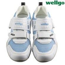 Wellgo Original NRP Road Bike Cycling Shoes Unisex Mountain Bike Riding Shoes Men Women Bicycle Sporting Shoes EUR Size 38-44