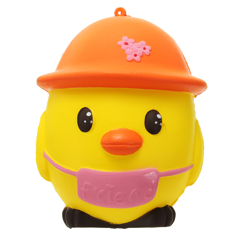 Yellow Penguin 11cm Soft Slow Rising 8s Collection Gift Decoration Toy Lovely Reduce Stress