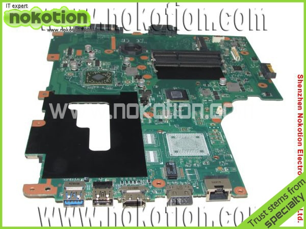 цена NOKOTION Tested NBC1U11002 EG70BZ Laptop Motherboard for Gateway NE71B 1200 CPU on board integrated DDR3