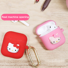Get more info on the Hello Kitty Silicone Bluetooth Wireless Earphone Case For Apple AirPods Cute TPU Protection Cover For Apple Airpods Charging Box