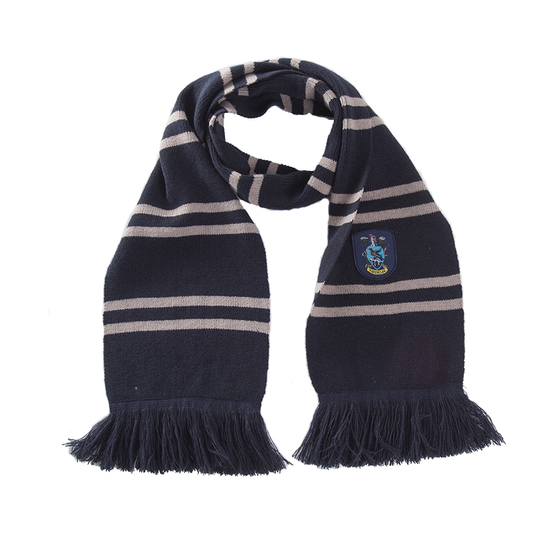 052c41c60e42a Gryffindor Slytherin Hufflepuff Ravenclaw Scarves 4 Color Version Cosplay  Scarf Warm Knit Kids Scarf Christmas Gift