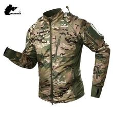New Men Germany UFPRO ACE Tactical Jacket Coat Winter Military CP Ultralight Waterproof Fleece Combat Jacket Men Fat BF109