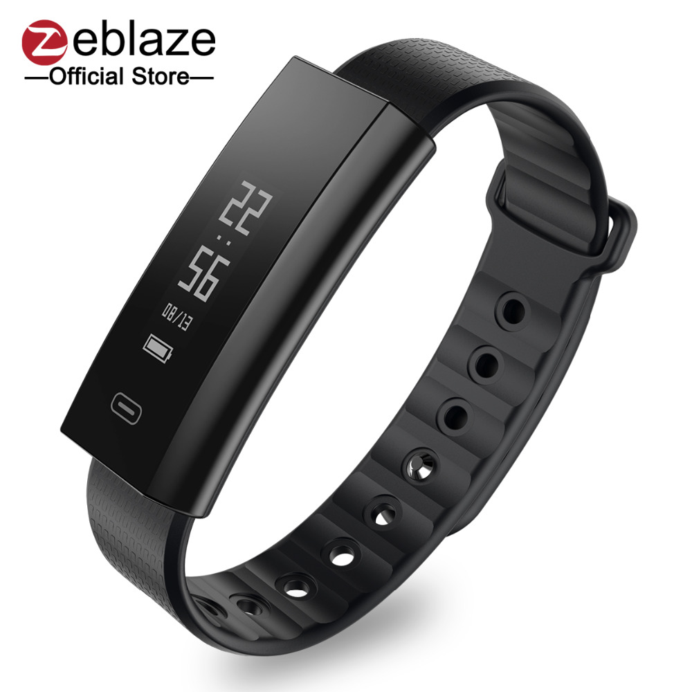 купить Zeblaze Arch Blood Pressure/Blood Oxygen Smart Wristband Heart Rate Monitor Weekly Health Report Fitness Bracelet IP67 Smartband дешево