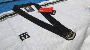 Image 3 - Mooto Master Taekwondo Dobok Trainers Slijtage Volwassen Witte Lange Mouwen Master Uniformen Taekwondo Leraar Uniformen