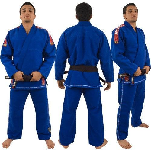 Professional A1-A4 Brazil Wushu Brazilian KORAL FIGHT GO Jiu Jitsu Judo Gi Bjj kung fu uniforms clothing sets Black Blue White wushu shoes кеды
