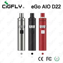 Authentic Joyetech eGo AIO D22 All-in-one Starter Kit 1500mAh Battery with with 2ml Atomizer Update Joyeetch eGo AIO