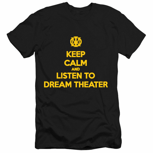 dream theater band logo rock thrash black heavy metal punk pop t rh aliexpress com Rock T-Shirts Heavy Metal Band Tees