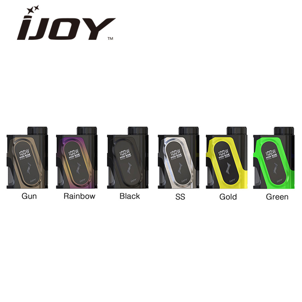 купить Original IJOY CAPO 100W 20700 Squonker MOD Max 100W Output Compatible with 21700/18650 Cell No Battery CAPO Squonker MOD Vape онлайн