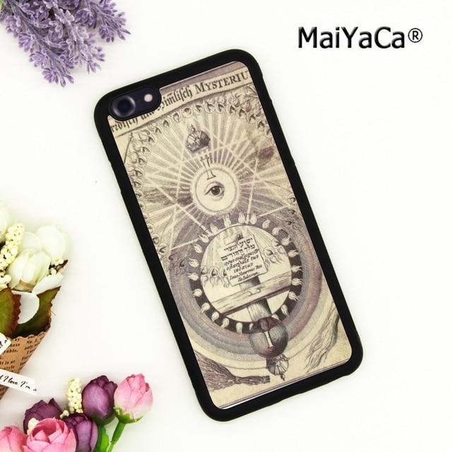 Maiyaca Illuminati Symbol Eye Phone Case Cover For Iphone 4 5 5s Se