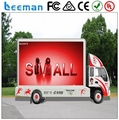 Leeman Sinoela USA market hot item easy installation advertising p10 led mobile advertising vehicles/ movable led display truck