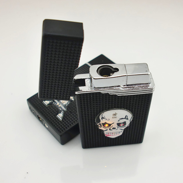 Excellent Touch Jet Lighter Compact Butane Torch Lighter Cigarette Accessories Gas 1300 C Windproof Petrol Ping Sound