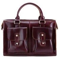 Designer Women Fashion Design Original Messenger Bag Men Genuine Leather Handbag Female Vintage Shoulder Travel Flap