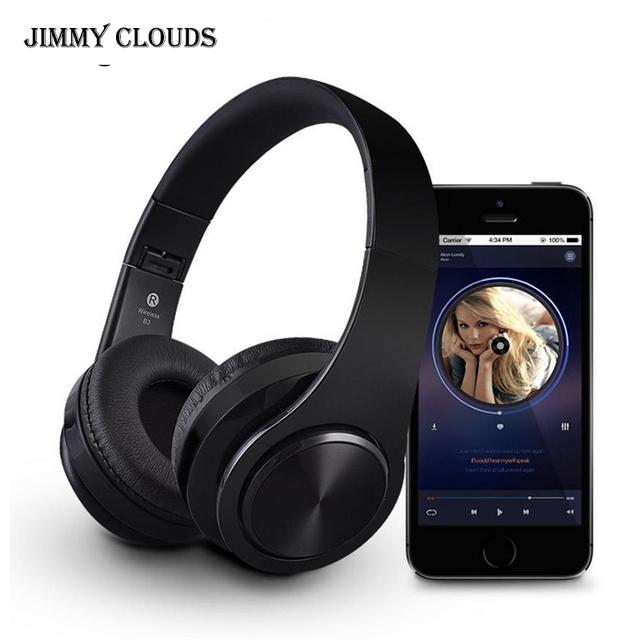 Wireless Headphones Bluetooth Headphones Headsets and Headphones with Samsung Xiaomi Sport and SD Card Play wirless earphone