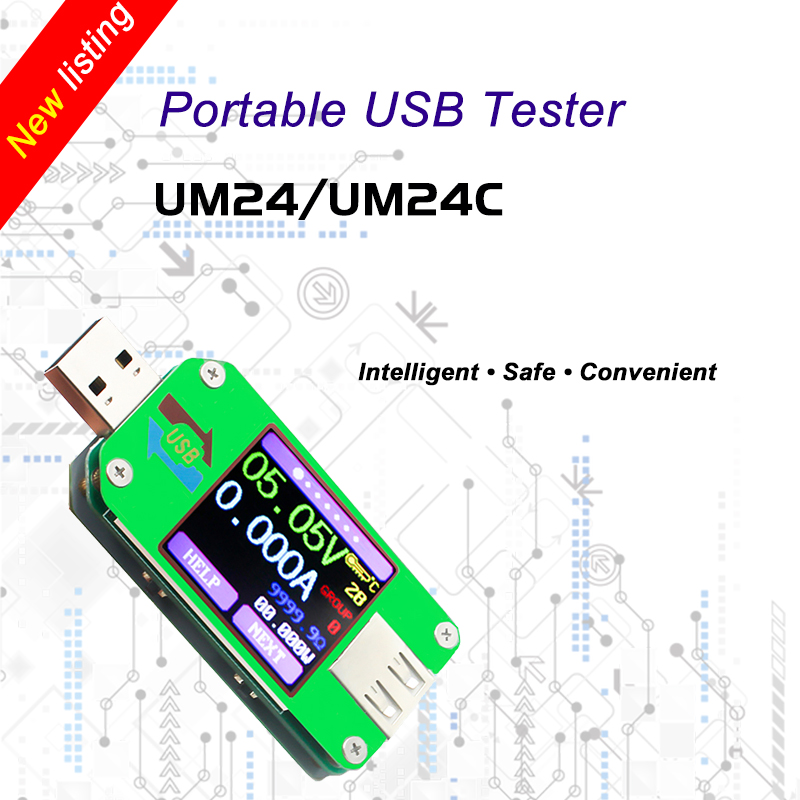 USB tester Bluetooth computer online DC Volt amp current voltage meter capacity monitor qc2.0 quick charger Power Bank detector image