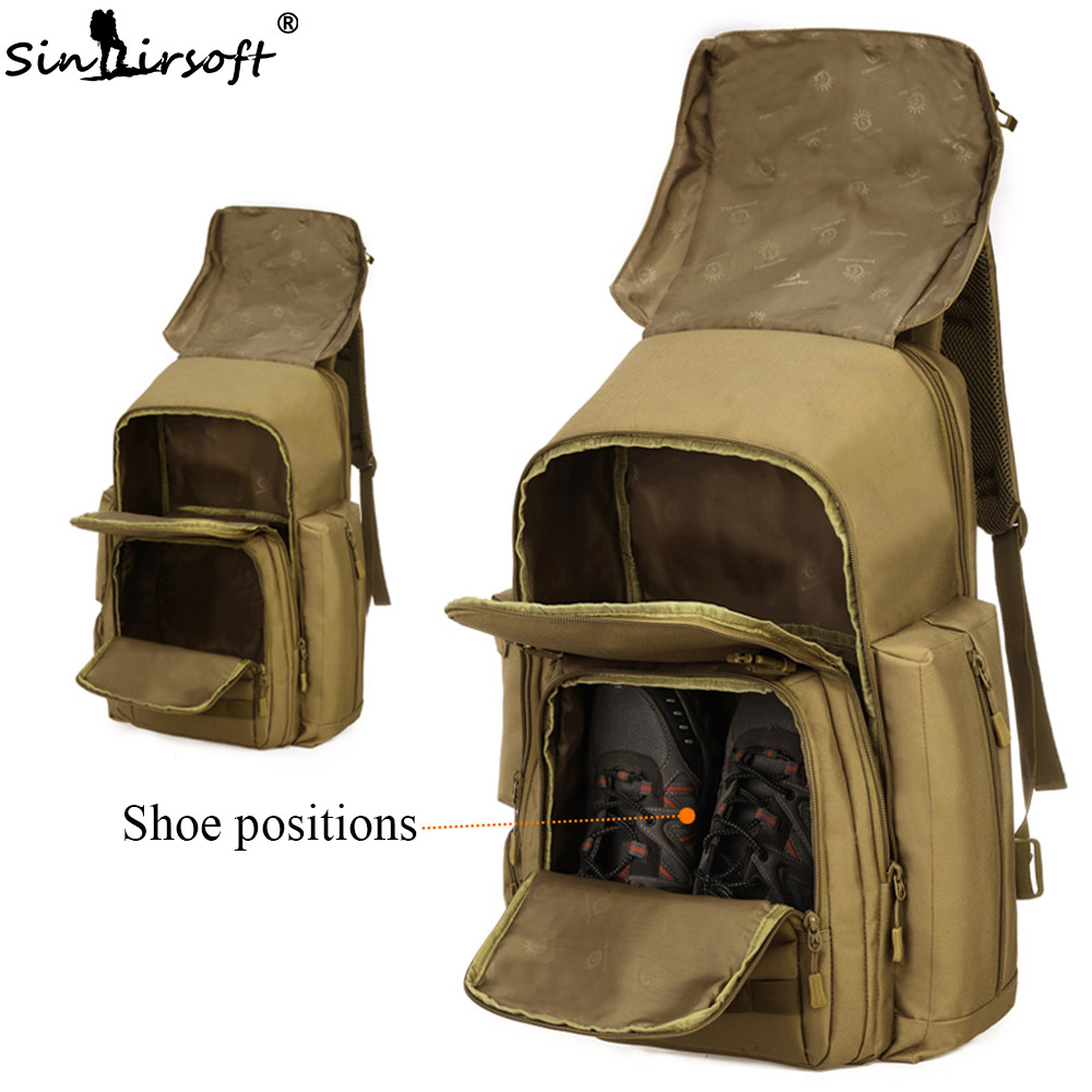 SINAIRSOFT 40L 17 дюймдік ноутбук Армия - Спорттық сөмкелер - фото 3