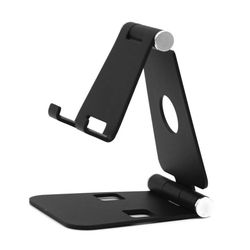 Universal Folding Aluminum Mount Holder Stand For iPad iPhone Samsung Tablet PC