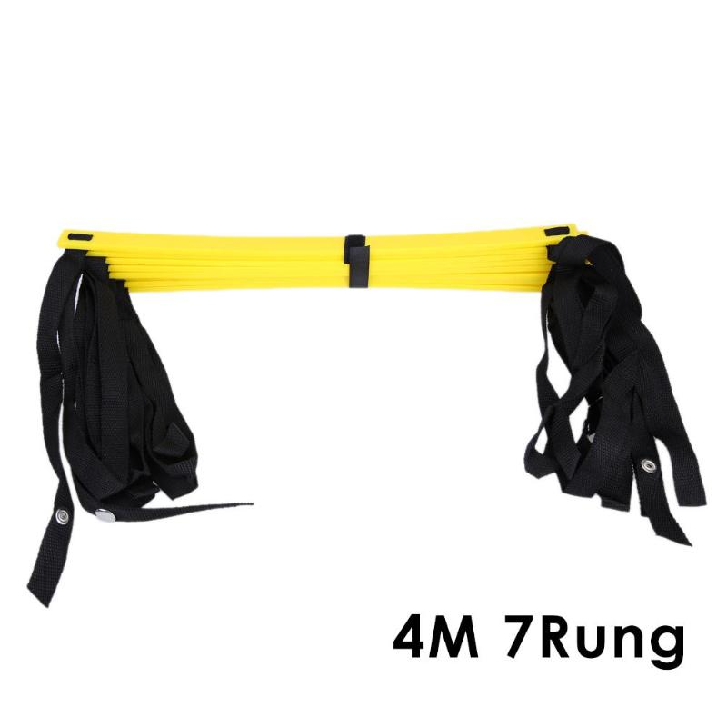 Rung Nylon Straps Training Ladders Agility Speed Ladder Stairs for Soccer Football Speed Ladder Fitness Equipment 6/7/8/12/14 21