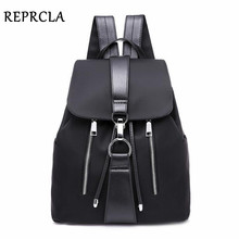 REPRCLA Fashion Waterproof Oxford Backpack Girls Schoolbag Shoulder Bag High Quality Women Backpacks Travel Mochila