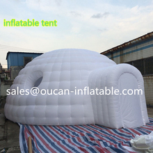 8x7x3.5m inflatable oxford cloth booth, inflatable tent inflatable entrance with free shipping