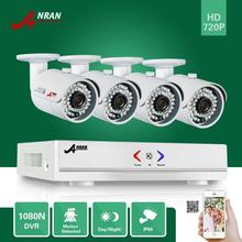 ANRAN 1800N 4CH 720P HDMI Surveillance AHD DVR KIT 4X 36IR Day Night Outdoor Waterproof Bullet Security Camera Home CCTV System
