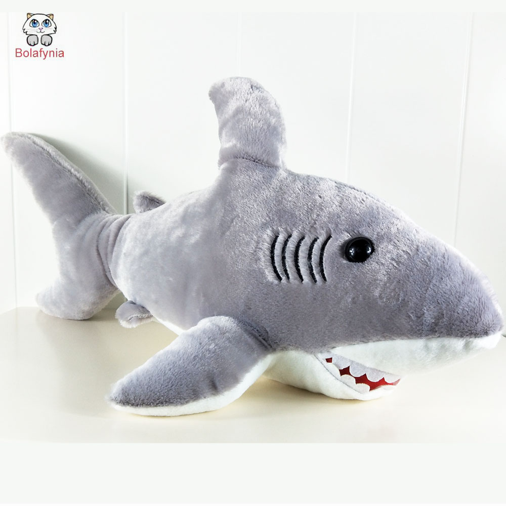 BOLAFYNIA Children Plush Stuffed Toys Baby Kid Toy see kindom shark for Christmas Birthday Gift