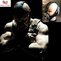 Free Shipping Vallain Mask From Bat Movie Halloween Costume Dress Up Party Props Soft Rubber Hardy