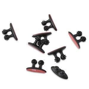 8 шт. автомобильное зарядное устройство зажим для наушников/USB кабель автомобильный клипса для Toyota Corolla Camry CHR RAV4 avensis yaris auris Cruiser