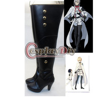 Seraph Of The End Feri Bathory Hyakuya Mikaela Cosplay Boots Carnival Shoes 9cm Heelpiece Custom Made