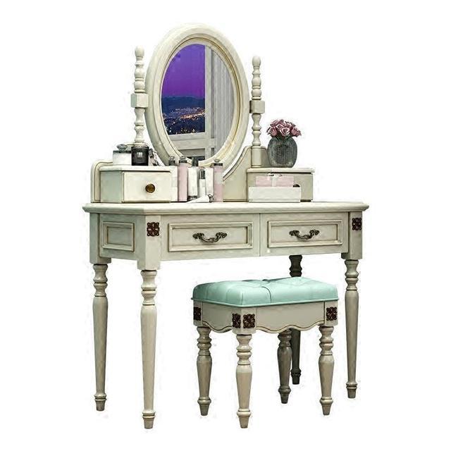 Cabinet Drawer Comoda Para Makeup Box Camera Da Letto Aparador European Wood Korean Quarto Table Bedroom Furniture Penteadeira