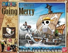 Anime Cartoon One Piece Going Merry Ship Model PVC Action Figure Collectible Toy OPFG387